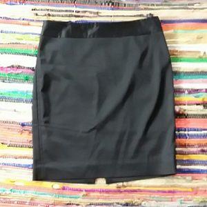 Black white house black market skirt